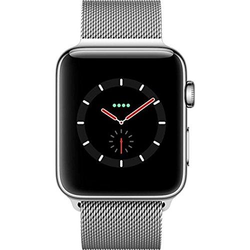 Apple Watch Series 3 42mm (GPS plus LTE) Stainless Steel Milanese Loop Plata SIM Free