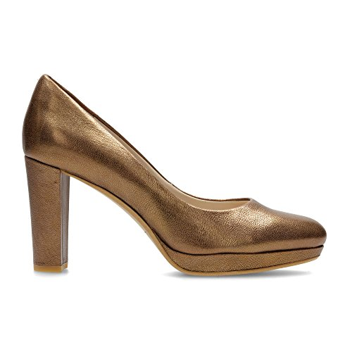 Clarks Shoes WOMENS Bronze Metallic JbfB5q009