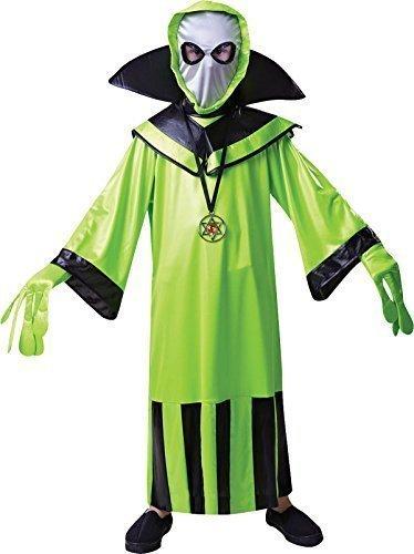 Kinder Fancy Kleid Halloween Party Scary Außerirdischer Komplettes (Kind Alien Kostüm Komplettes)