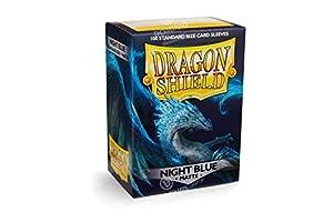 Dragon Shield- Sobres para Tarjetas, Color Azul Noche, 1