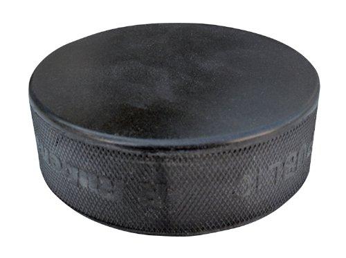 A&R Ice Hockey Puck Black Practice Hard Vulcanized Rubber This Lightweight (Amp-hockey-puck)