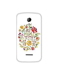 Micromax A117 ht003 (188) Mobile Case from Leader