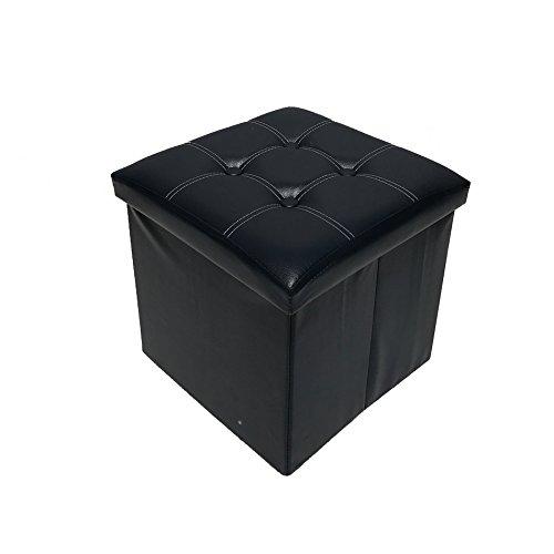 Mobili Rebecca® Baules de Polipiel Puf Plegable Cajas almacenar Tabur