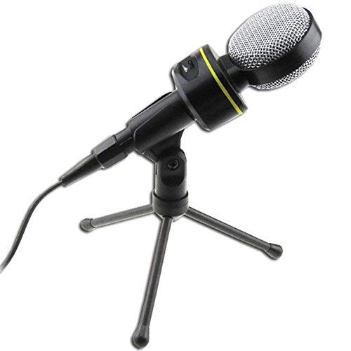 KAXIDY Professionnel PC Microphone Micros PC pour Skype Jeux en ligne la conférence Web Vidéo Chat VOIP