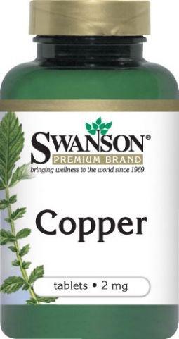 Swanson - Kupfer (Chelat) 2mg, 300 Tabletten - Aminosäurechelat für Maximale Absorption & Bio-Verfügbarkeit (Chelated Copper tablets)