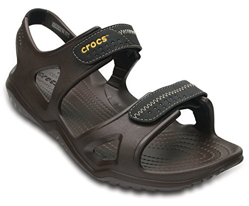 Crocs Swiftwater River Men Sandal in Brown at amazon
