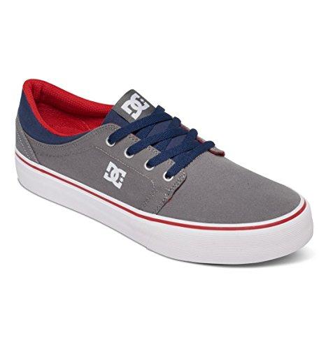 DC - Trase Tx M Shoe Frn, Sneaker basse Uomo Grey/Dark Navy