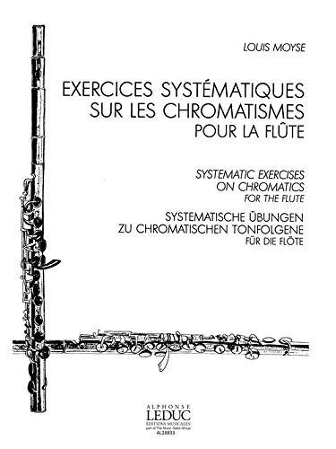 EXERCICES SYSTEMATIQUES SUR LES CHROMATISMES POUR LA FLUTE