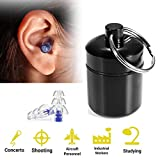 Best Noise Cancelling Earplugs - Ear Plugs Hearing Protection Noise Cancelling Silicone Reusable Review