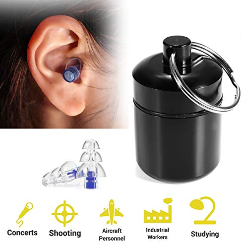 Workplace Safety Supplies Back To Search Resultssecurity & Protection 1 Pair Soft Silicone Ear Plugs Protection Reusable Professional Earplugs Noise Reduction For Sleep Dj Musicians Party Motorcycle Attractive And Durable