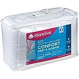 blanrêve Prêt à Dormir kit Couette et oreillers, Coton, Blanc, 140x200