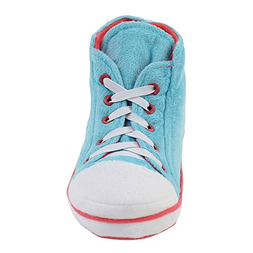 Gohom ,  Herren Chelsea Boots Light Blue&Red