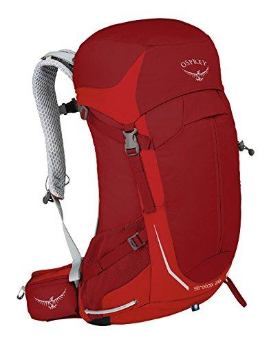 Osprey Wanderrucksack Trekkingrucksack Stratos 26 O/S Rot