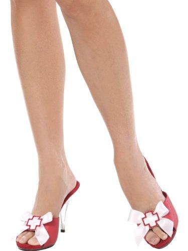 Sexy Krankenschwester/Krankenschwestern Schuh Clips Lady Kostüm