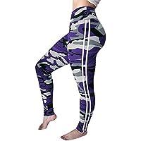 RYFBRE Pantaloni da Yoga Esercizio della Palestra delle Donne dei Pantaloni di Yoga Casinò e attrezzature