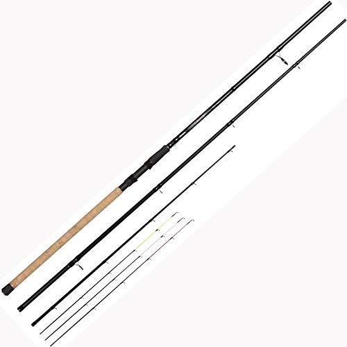 Okuma Ceymar Method Feeder 3,30m 60g - Feederrute zum Methodfeedern, Angelrute zum Friedfischangeln mit Futterkorb, Grundrute