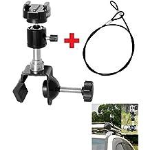 Fantaseal® Monturas del Auto SUV ATV Soporte para Portaequipajes de Vehículos de Coche para GoPro Hero4 / 3+ / 3 / Session / SJCAM SJ4000 Sony X1000VR Garmin Virb XE Xiaomi Yi, más cámaras de acción