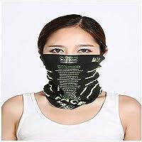 Lili 3 máscaras, Bufanda Deportiva Multifuncional, Funda Protectora UV Transpirable Lavable, Adecuada para Correr, Pescar, Caminar
