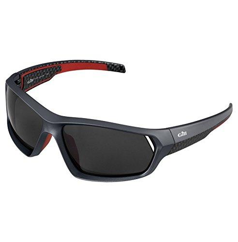 Gill Race Sonnenbrille aus Graphit - Unisex - Schwimmende Brille für klare Sicht auf dem Wasser -