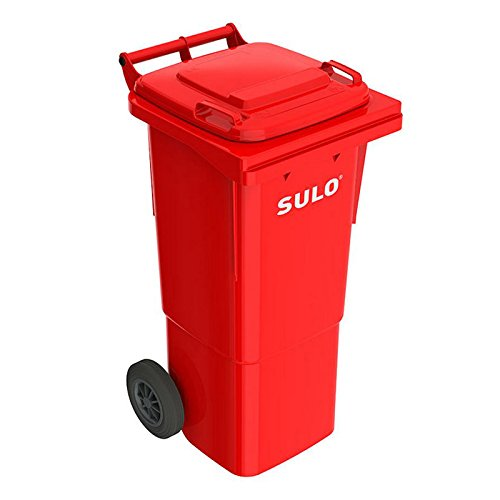 *SULO 2 Rad Müllbehälter MGB 60, Inhalt 60 l – Rot*