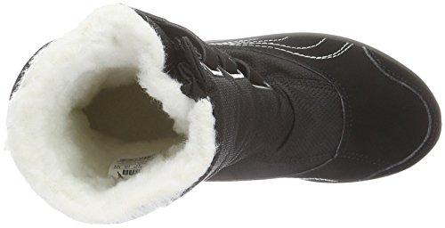 Puma Acima Gtx Ps, Bottes mi-hauteur non doublées mixte enfant Noir - Schwarz (puma Black-Grey DAWN 01)