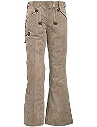 Fhb 2065935 - 20006-13-34 pantalones beige trabajo pauline, beige
