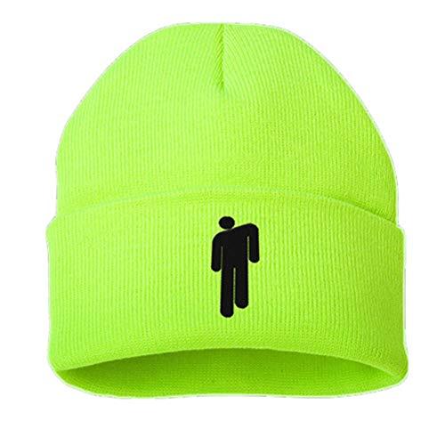 Neborn Baumwolle Casual Mützen für Männer Frauen Gestrickte Winter Hut Solide Hip-Hop Skullies Motorhaube Unisex Kappe (Grün) (Männer-beanie-mütze)