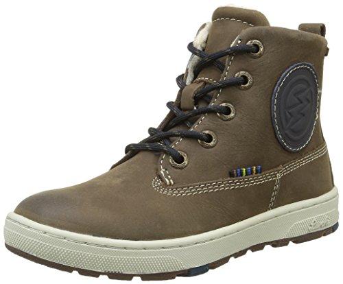 Lurchi Jungen Doug-Tex Combat Boots, Mehrfarbig (Taupe Navy -