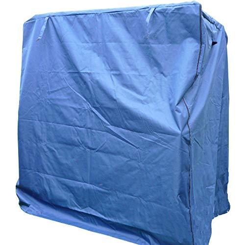 universal XXXL Premium Strandkorb Schutzhülle Strandkorbhülle Strandkorbhaube -- Blau -- für alle Strandkörbe bis 160cm breite von XINRO®