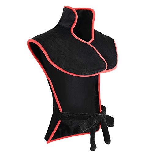 Misiki Heizkissen Elektrische für Rücken mit Abschaltautomatik große Wärmekissen (85 x 60 cm) für Nacken und Schulters, Rückenheizkissen mit Schneller Erwärmung zur Linderung von Muskelschmerzen