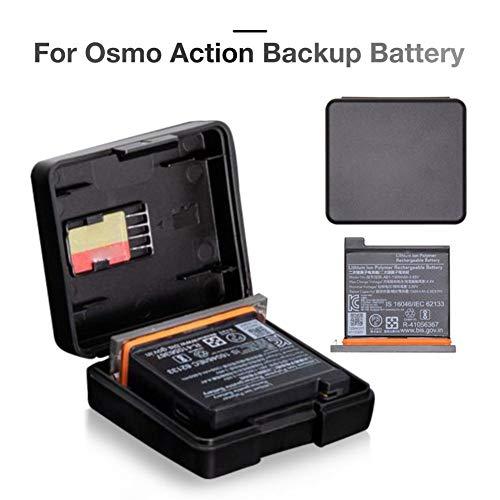 ningxiao586 1300mAh Original Akku + Tragetasche Kompatibel für DJI OSMO Action Pocket Sportkamera Zubehör Ladeset mit Ladestation Akku Akkufach