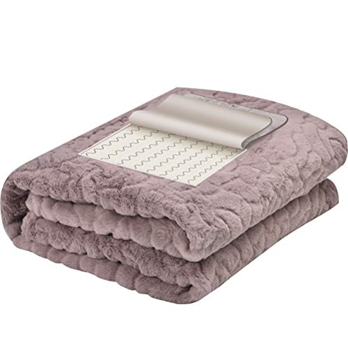 Wärmende Decke, Elektrisch Beheizte Warme Decke Für Bett Oder Couch, Schnelle Heizungsregler, Ultra Weicher Muskelkomfort (Werfen Decke Beste Elektrische)