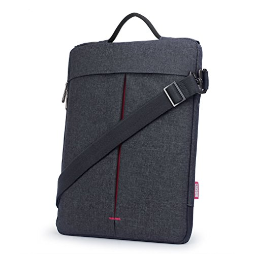 CAISON Notebooktasche Umhängetasche für 2018 Neu 13 Zoll MacBook Air/MacBook Pro 13/13.5 Zoll Microsoft Surface Laptop 2 / Razer Blade Stealth 13/13,3 Zoll HP Envy x360 13 Usb-co Carbon