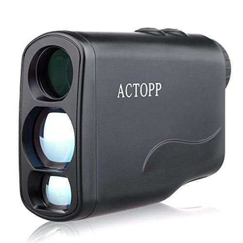 ACTOPP Golf Jagd Entfernungsmesser Lasermessgerät 6x21/600 Golf Rangefinder Entfernungsmesser mit Höhe Winkel horizontale Messen für Jagd Fischen Motorsport Engineering Survey