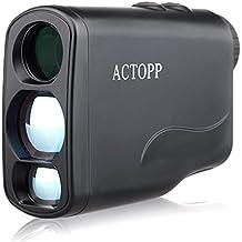 ACTOPP Golf Telémetro Láser Mide 6x21 / 600 Telémetro Láser de Golf Telémetro Laser con Ferias Horizontales Ángulo de Elevación de Pesca Caza Estudio de Ingeniería Motorsport