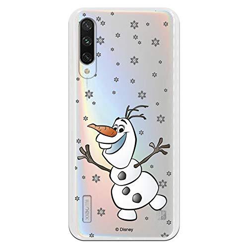 Funda Xiaomi Mi A3 Oficial Frozen Olaf Silueta Proteger