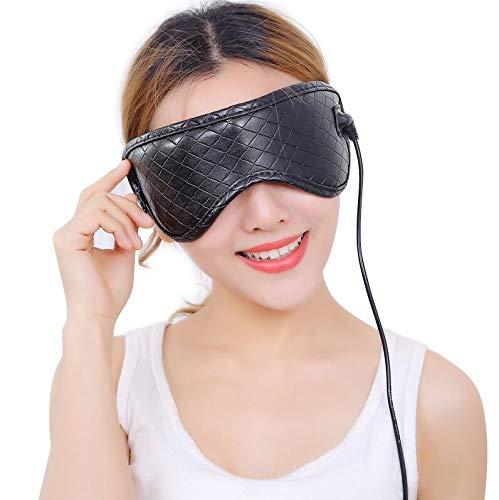 Elektrisches Augenmassagegerät Mit Heizung, Vibration,Musik Und Luftdruck Gegen Augenermüdung Dry Eyes Stress Relief,Faltbarer Tempelmassager Als Geschenk -