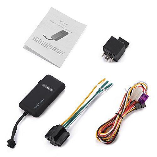 XCSOURCE localizador vehículo en Tiempo Real-Localizador GPS/gsm/GPRS/SMS Localizador Sistema antirrobo Coche Moto...