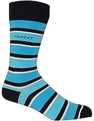 Gant-Dreifarben Gestreift Herren Socken, Blau