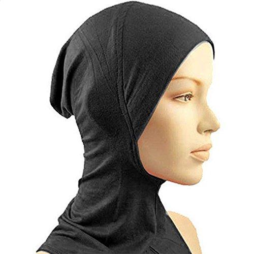 EFINNY Women Muslim Hijab Kopftuch Islamic Hijab Rohr Kappe Elastische Schweiß Absorbierende Baumwolle Underscarf
