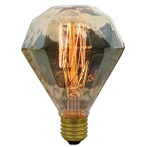 Weinlese-Edison-Glühlampe G95 Dimmbar 40W 2300K Diamond Sterne-Retro- Glühlampe Warm White AC 220-240V Energie Klasse Spezial Wolframlampe Vintage Edison Glühbirne