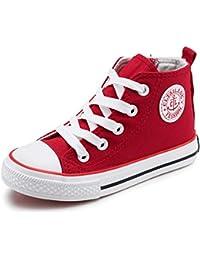 bdaf460bde89b Toile Enfants Chaussures Haut Haut Enfants Respirant Baskets Mode GarçOns  Filles Casual Chaussures Toddler Chaussures GarçOns