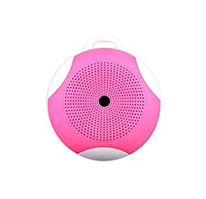 Spintronics MIMI-BT B02 Portable Wireless Bluetooth Speaker With Enhanced Bluetooth 3.0 Version, Rechargeable Battery, Microphone Support, FM Radio, Aux & Micro SD Card Function - Pink
