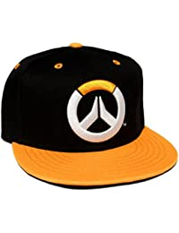 Casquette snapback Overwatch - Orange power - Noir - One Size