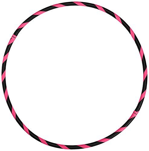 Hoopomania Fitness Hula Hoop Reifen, Neon Pink, 100 cm