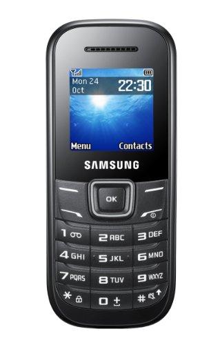 Samsung Samsung E1200 Handy (3,9 cm (1,52 Zoll) Display, Dual-Band, Worterkennung) black