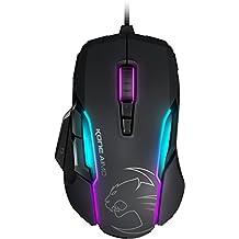 ROCCAT Kone AIMO - RGBA Smart Customization Gaming Maus (Owl-Eye Optischer Sensor, 12.000 dpi, AIMO Lichtsystem) schwarz