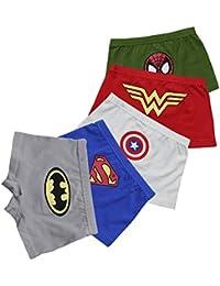 "Ragazzi Marvel Comics Avengers Boxer Boxer Pantaloni Biancheria Intima 5-6 ANNI 32/"""