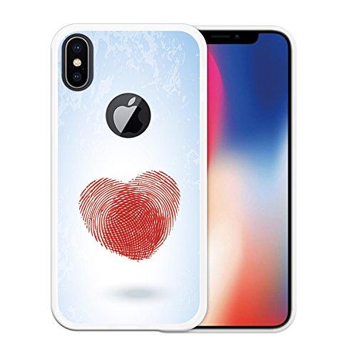 iPhone X Hülle, WoowCase Handyhülle Silikon für [ iPhone X ] Regenbogen Eule Handytasche Handy Cover Case Schutzhülle Flexible TPU - Transparent Housse Gel iPhone X Transparent D0089