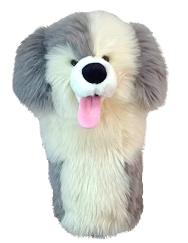 DAPHNE NOVELTY GOLF DRIVER HEADCOVER. RESCUE DOG.
